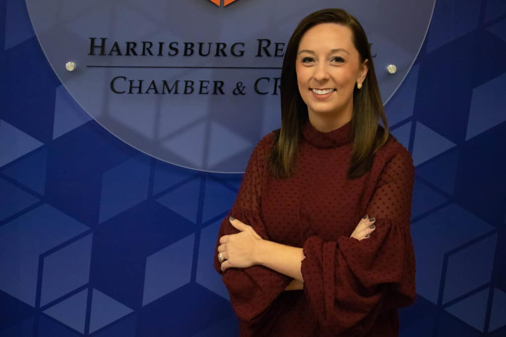 CHAMBER AND CREDC HIRES CBS 21 REPORTER COURTNEY HIGHFIELD